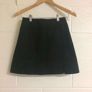 formal black skirt