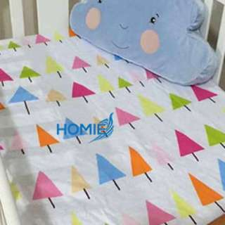Instock Baby Cot Fitted Mattress Sheet
