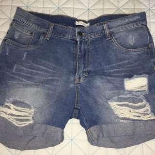 Rusty High Waisted Shorts