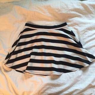 Forever 21 Stripped Skirt