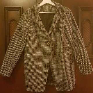 Houndstooth Winter Coat