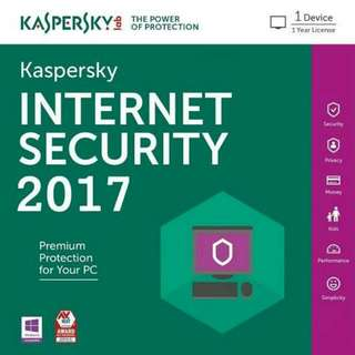 Kapersky Internet Security 2017 (Original)