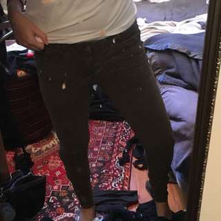 Zara Khaki Jeans