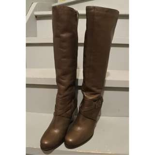 [NEW] Leather tall boots