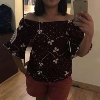 Off shoulder blouse from Thailand