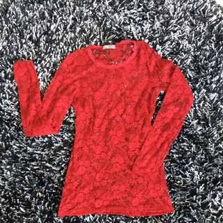 Imagination Long Sleeve (Bloody Red)