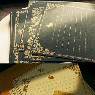 Vintage Theme Letter Set