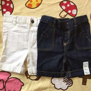 24 Mths 牛仔布料女童短褲