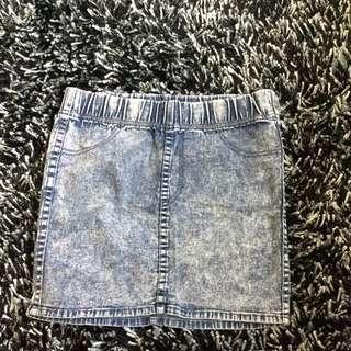 H&m Soft Denim Skirt