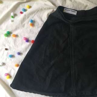 American Apparel Denim Skirt (L)