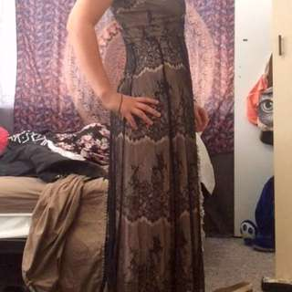Olden Style Maxi Dress