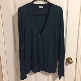 Forever 21 Teal Green Sweater