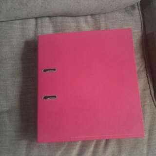 "2-Ring Binder; 2"" wide"