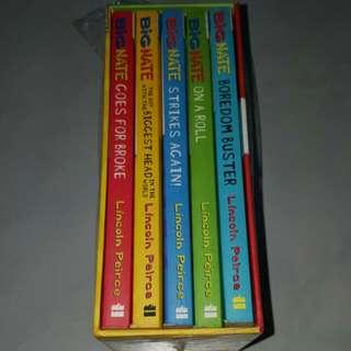 Big Nate 5 Books In One Box