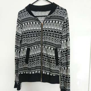 Tribal Print Cardigan/Jacket