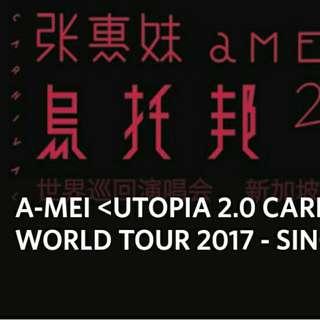 1 Pair A Mei Concert (10 Jun) Cat 3