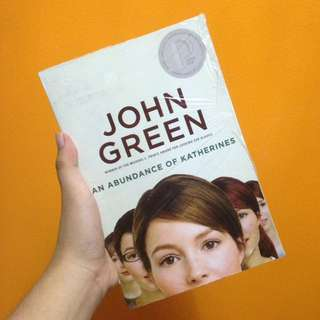 BRAND NEW An Abundance of Katherines by John Green