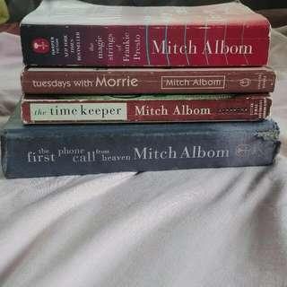 Mitch Albom Books (set)