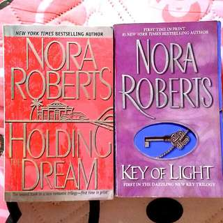 Nora Roberts Novel:  Key of Light & Holding The Dream
