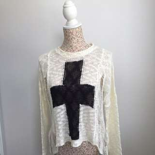 rehab Knitted Top