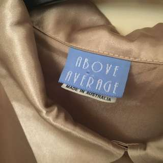 Tag For Gold Shirt