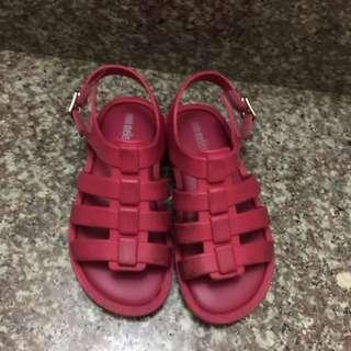 mini Melissa 羅馬涼鞋 151/2 cm