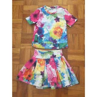 Justice Top & Skirt