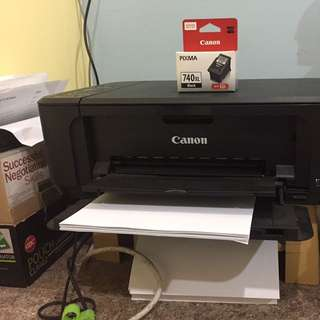 Canon Printer With One Black Cartridge