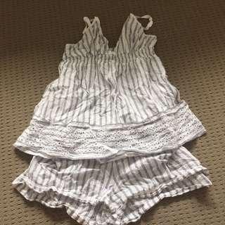 marie claire pyjama set