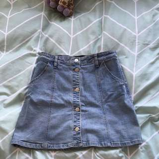 Wild pair Denim Skirt
