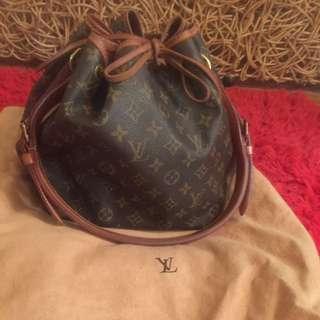 Authentic Louis Vuitton Monogram petite noe