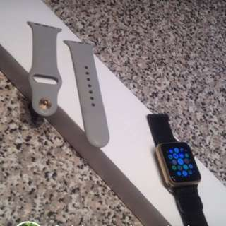 Gold Apple Watch Message For More Information