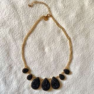 Lovisa Black/gold Necklace