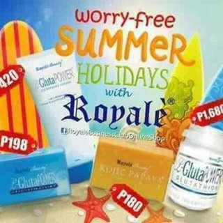 Summer Essentials ( Soap, Lotions, Glutathione)