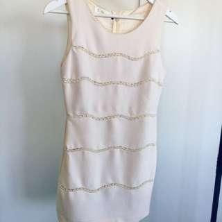 Elegant Pearl Dress
