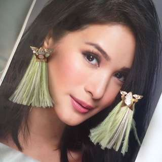 Feather Statement Earrings