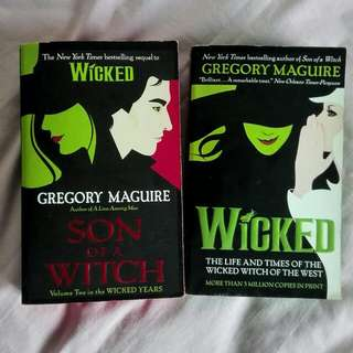 Wicked (Book 1 and 2)