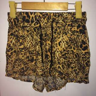 Flowy Cheetah Shorts