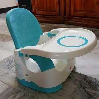 費雪寶寶攜帶式餐椅