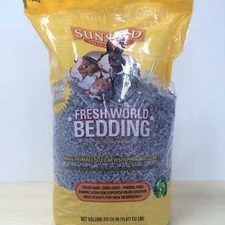 Vitakraft Sunseed: Fresh World Bedding In Purple