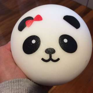 Jumbo Panda Bun Squishy