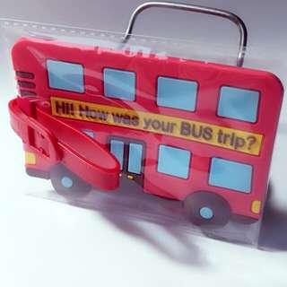 🚚 紅巴士行李牌