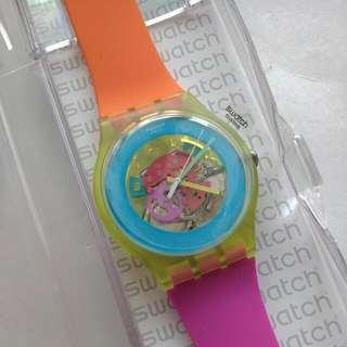 Swatch Two-Color Watch