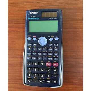 Casio fx-85ES calculator with Two Way Power (including solar panel)