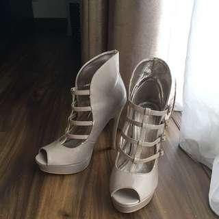 Nude High Heels Shoes