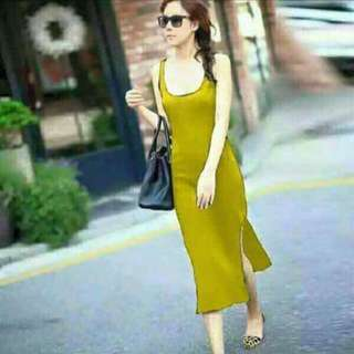 Long Dress With Two Slit On The Side