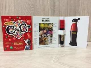 Moschino Cheap & Chic奧莉薇女性淡香水1ml/針管香水