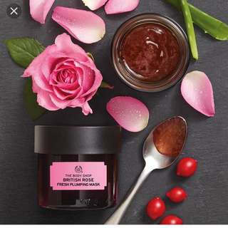 Body Shop Rose Mask