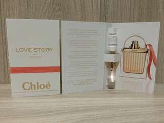 Chloe LOVE STORY愛情故事日落巴黎女性淡香精1.2ml/針管香水 科蒂公司貨