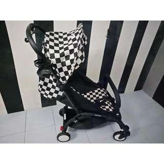 Checkered Stroller